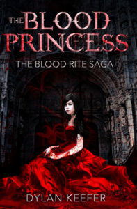 the blood princess the blood rite saga front cover